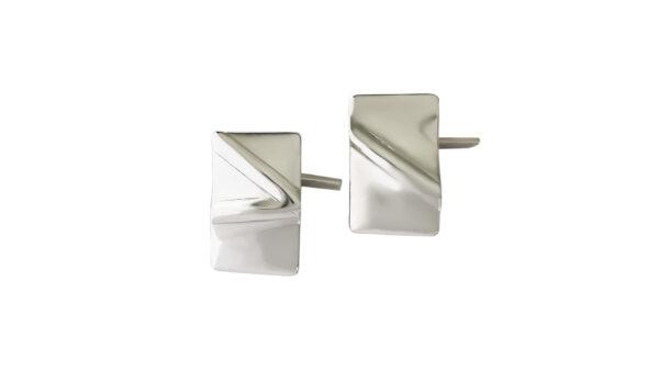 silver, handmade, cufflinks